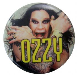 Ozzy Osbourne - 'Ozzy Hands' Button Badge